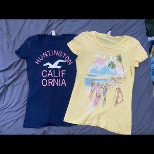 Hollister T-shirts